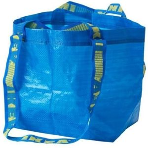 NEW Set of 2 Ikea Brattby Shopping Tote